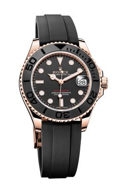 Rolex: Oyster Perpetual Yacht-Master in Everose-Gold mit Oysterflex-Band