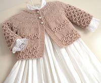 Round Yoke Cardigan pattern by OGE Knitwear Designs