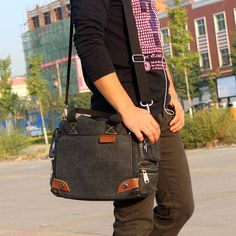 NEW messenger bagcanvas messenger bag canvas by onlysucre on Etsy, $28.00
