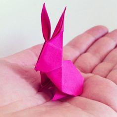 osterdeko ideen basteln mit papier osterhase