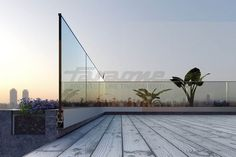 Glass and aluminium Stair balustrade NINFA 170 Glass and aluminium Railing Collection by FARAONE Glass Handrail, Frameless Glass Balustrade, Balustrade Balcon, Balustrades, Balustrade Design, Glass Fence, Glass Door, Balcony Railing Design, Glass Balcony
