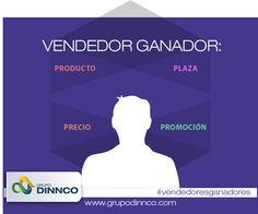 Vendedores Ganadores: La propuesta de valor para el cliente se construye básicamente con estos cuatro elementos, Producto, Precio, Plaza y Promoción. #vendedoresganadores