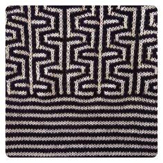 Knit Swatches by Ellen van den Andel. #passionfruitandlemonade