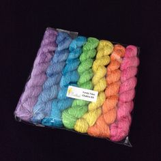 The shop is being updated. Check out the great vegan yarns making there first Etsy appearance.