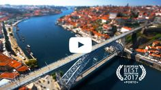A beautiful panoramic video of Porto, recently voted the European Best Destination of 2017!