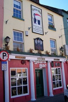 Sean's Pub, the oldest pub in Ireland per Guiness Book of Records, in Athlone, Co. Westmeath, Ireland