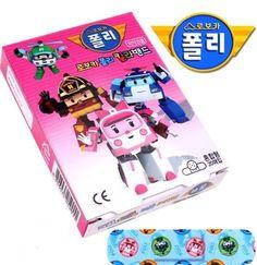 Robocar Poli - Band Aid MIX ( 1 Box , 20 Pads ) Korean Character Animation Kids #RobocarPoli #Mixed