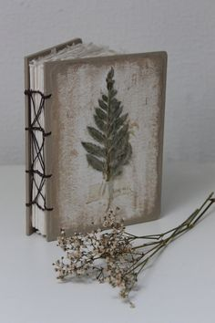 Coptic bound journal with handmade paper and by LotusBluBookArt - One of a kind £30 - Buy now for Christmas delivery.