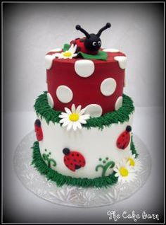ladybugs- Love this cake!!