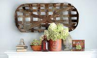 diy tobacco basket, crafts, how to, wall decor, DIY Tobacco Basket