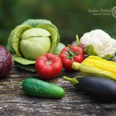 Полимерные овощи🍆 Размер от 1,5 до 5,5 см📏 #овощиизполимернойглины#миниатюрныеовощи#игрушкидетям