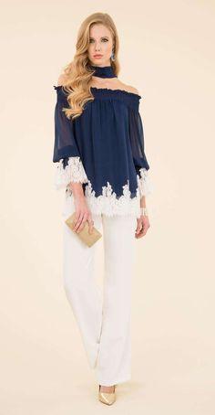 d8cc66d5b386 Outfit bicolor da cerimonia Luisa Spagnoli Abbigliamento Casual