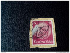 RARE GERMANY DEUTSCHES REICH 1940 15PF RECOMMENDET PAR AVIA LETTRE ON PAPER COVER USED SEAL WIEN - Germany