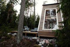 Casa nido de Robin Falk.