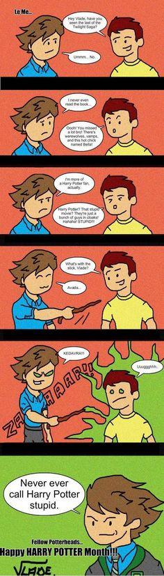 Twilights vs Harry Potter