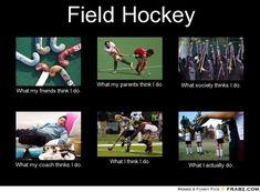 Field hockey in a nutshell!  #hockey