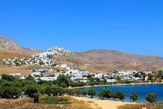 View of Chora from Livadakia beach