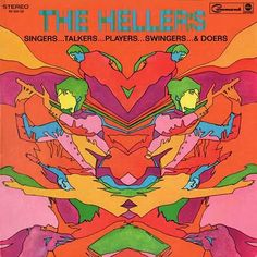 psychedelic pop art album covers 24 Lola Who fashion music photography blog