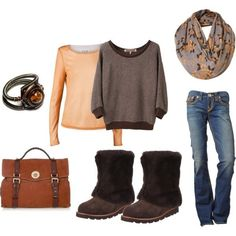 perfectly easy, created by #shauna-rogers on #polyvore. #fashion #style United Bamboo UGG Australia #uggboots #ugg #boots #cybermonday #ugg #boots #cyberweek