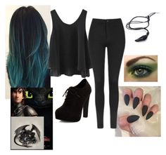 """""""Toothless Outfit"""" by babytoothless ❤ liked on Polyvore featuring Topshop and New Look"""