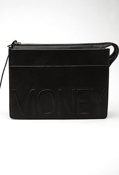Faux Leather Money Clutch | FOREVER 21 - 1000117514
