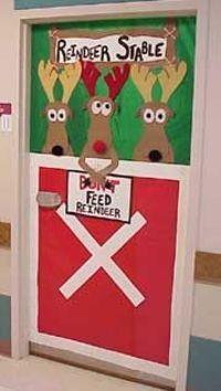 classroom door ideas for Christmas: