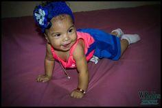 Cinco meses preciosa bebé