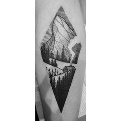 #blackink #mountains //