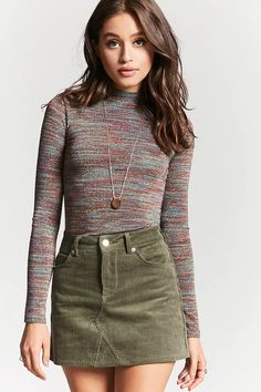 Corduroy Mini Skirt | Forever 21