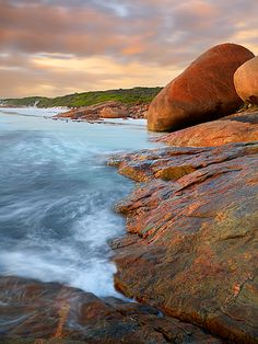 Where my family is from -- Esperance, WA (this is Lucky Bay)