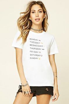 Monday Tuesday Graphic Tee