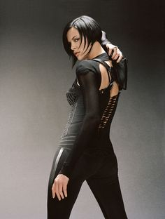Charlize Theron (played Aeon Flux on Aeon Flux)