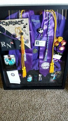 ideas medical school graduation cap shadow box for 2019 College Graduation Parties, Nursing School Graduation, Graduation Diy, Graduate School, Nursing Schools, Grad Parties, Graduation Shadow Boxes, Nursing Graduation Pictures, Ob Nursing