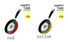 Relógio de Parede no formato de frigideira!