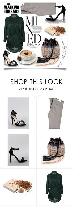 """The walking threads"" by fashion-pol on Polyvore featuring Anne Michelle, AG Adriano Goldschmied and Mary Kay"