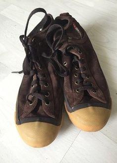 Kupuj mé předměty na #vinted http://www.vinted.cz/damske-boty/tenisky/13821130-original-vysoke-kozene-hnede-tenisky-diesel-36