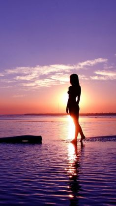 girl, sea, Nature. I'd tarry a while on this path, wouldn't you? After all, how does one improve on perfection?
