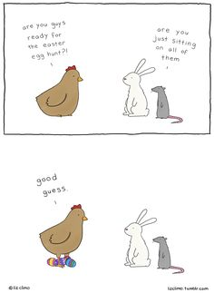 Awkward Everyday Lives Of Animals By Simpsons Illustrator Liz Climo New adorable animal comics by Simpsons Illustrator Liz Climo Funny Animal Comics, Cute Comics, Animal Memes, Funny Comics, Comedy Comics, Clever Animals, Cute Funny Animals, Funny Cute, Hilarious