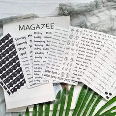 8 Sheets of Basic Black + White Number, Calendar + Bullet Journal Stickers Planner Stickers, Journal Stickers, Scrapbook Stickers, Diy Scrapbook, School Stationery, Stationery Store, Number Stickers, Diy Stickers, Google Play