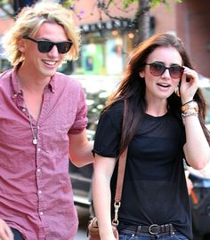 lily collins and jamie campbell bower the mortal instruments on set photos | Mit Jamie Campbell Bower und Lily Collins in den Hauptrollen wird nun ...