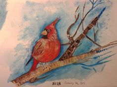 This water colour painting has been sold