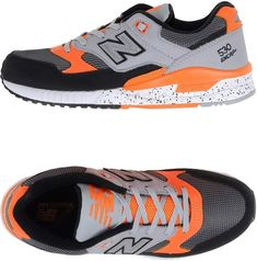 New Balance Sneakers Orange Sneakers, New Balance Sneakers, Shoes, Fashion, Moda, Zapatos, Shoes Outlet, Fashion Styles, Shoe