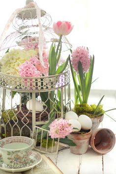 Craftberry Bush: Spring arrangement....