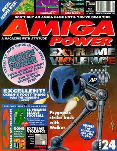 Amiga Power Issue 24 Outdoor Power Equipment, Magazines, Journals, Garden Tools