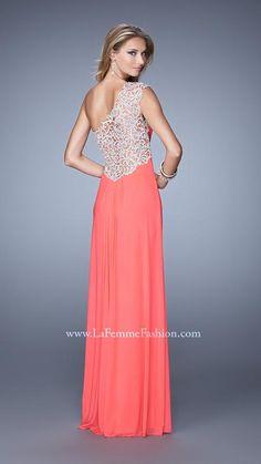 La Femme 21219   La Femme Fashion 2014 - La Femme Prom Dresses - La Femme Cocktail Dresses