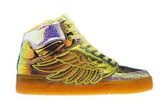 "adidas Originals by Jeremy Scott 2014 Spring JS Wings ""Iridescent Foil"""