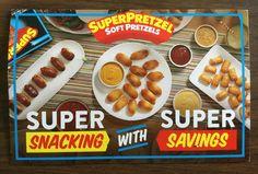 SUPERPRETZEL Soft Pretzel  Coupons #freestuff #freebies #samples #free
