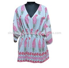 Check out this product on Alibaba.com APP Paisley print Kaftan Ladies Tops in wholesale price