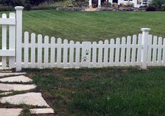 Safeguard the beloved family doggo with the top 60 best dog fence ideas. From rustic wood and mesh wire to modern metal, discover canine barrier designs. Dog Fence, Dog Yard, Front Yard Fence, Diy Backyard Fence, Backyard Retreat, Backyard Landscaping, Pet Barrier, Dog Spaces, White Picket Fence