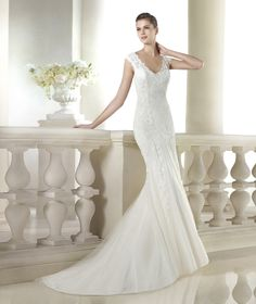 Serine wedding dress from the Fashion 2015 - St Patrick collection | St. Patrick